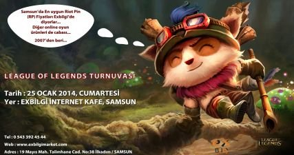 LEAGUE OF LEGENDS TURNUVASI
